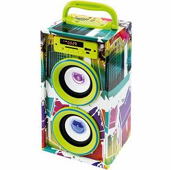 Prijenosni zvučnik SAL BT 2800/GR (Bluetooth, FM radio, USB)
