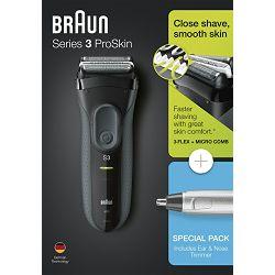 Brijaći aparat BRAUN 3000VS + trimer Braun EN 10