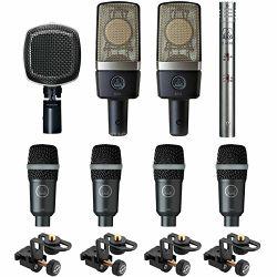 Bubnjarski set mikrofona AKG DRUMSET PREMIUM