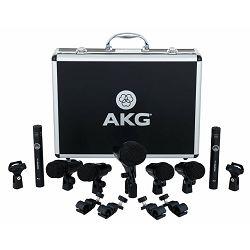 Bubnjarski set mikrofona AKG Drumset Session I