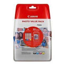 Tinta CANON CLI-571 CMYB - Photo Value Pack