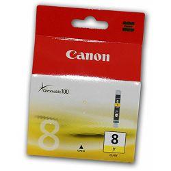 Tinta CANON CLI-8BK žuta