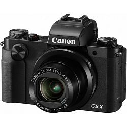 Fotoaparat CANON PS G5X, 20MP, 4.2x (24-100mm), 3