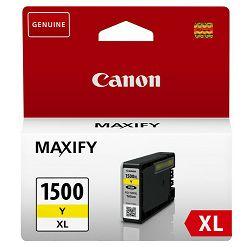 Tinta CANON PGI-1500XL žuta