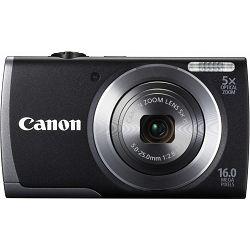 Fotoaparat CANON PowerShot A3500 IS crni + poklon memorijska kartica 8GB