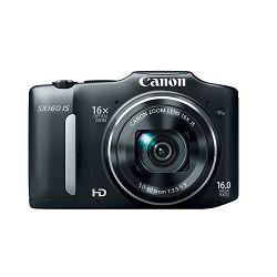 Fotoaparat CANON POWERSHOT SX160 IS crni