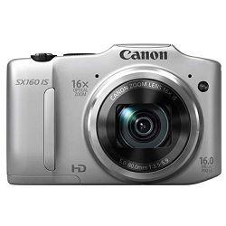 Fotoaparat CANON PowerShot SX160 IS srebrni + poklon memorijska kartica 8GB