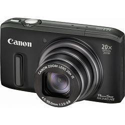 Fotoaparat CANON PowerShot SX240HS crni + poklon memorijska kartica 8GB