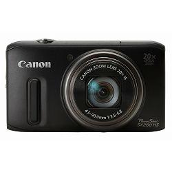Fotoaparat CANON PowerShot SX260HS crni + poklon memorijska kartica 8GB