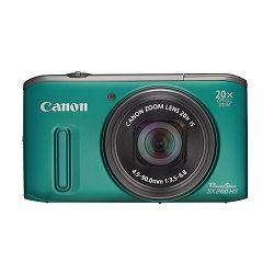 Fotoaparat CANON PowerShot SX260HS zeleni + poklon memorijska kartica 8GB