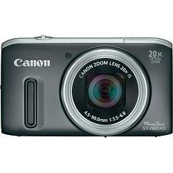 Fotoaparat CANON PowerShot SX260HS srebrni + poklon memorijska kartica 8GB