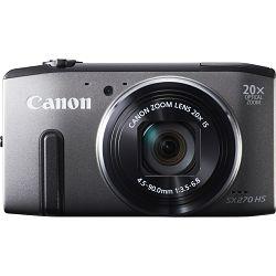 Fotoaparat CANON PowerShot SX270HS sivi + poklon memorijska kartica 8GB