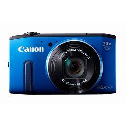 Fotoaparat CANON PowerShot SX270HS plavi + poklon memorijska kartica 8GB