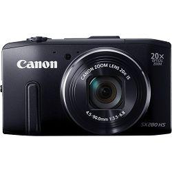 Fotoaparat CANON PowerShot SX280HS crni + poklon memorijska kartica 8GB