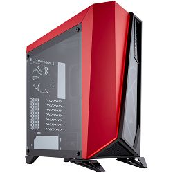 Kućište CORSAIR Carbide Series SPEC-OMEGA Tempered Glass Mid-Tower ATX Gaming Case - Black/Red