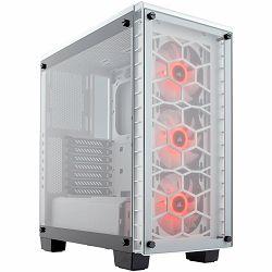 Kućište CORSAIR Crystal Series 460X RGB Compact ATX Mid-Tower Case — White