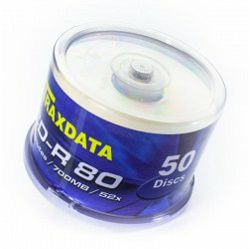 CD-R TRAXDATA CD-R PRN SP50 bijeli