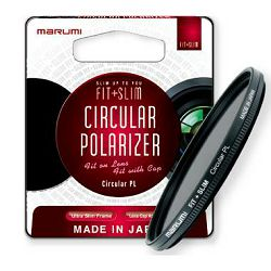 Cirkularni polarizator MARUMI FIT+SLIM CPL 77 mm