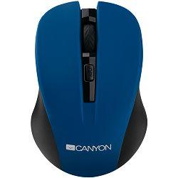 Miš CANYON CNE-CMSW1 (bežični, plavi)