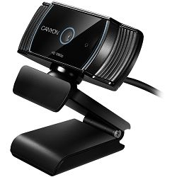 Web kamera CANYON 1080P full HD 2.0Mega auto focus webcam with USB2.0 connector, 360 degree rotary view scope, built in MIC, IC Sunplus2281, Sensor OV2735