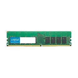 RAM memorija CRUCIAL 16GB DDR4-2666 RDIMM, CL=19, Dual Ranked, x8 based, Registered, ECC, DDR4-2666, 1.2V, 2048Meg x 72