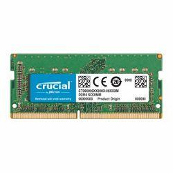 RAM memorija CRUCIAL DRAM 16GB DDR4 2400 MT/s (PC4-19200) CL17 DR x8 Unbuffered SODIMM 260pin for Mac, EAN: 649528783325