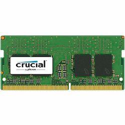 RAM memorija CRUCIAL DRAM 16GB DDR4 2666 MT/s (PC4-21300) CL19 DR x8 Unbuffered SODIMM 260pin, EAN: 649528780140