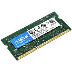 RAM memorija CRUCIAL 4GB DDR3L 1600 MT/s (PC3-12800) CL11 SODIMM 204pin 1.35V/1.5V Single Ranked