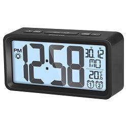 Digitalni sat SENCOR SDC 2800 B s alarmom i termometrom