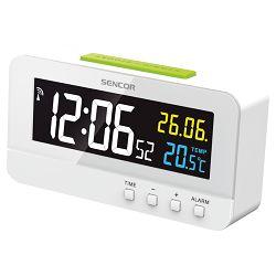 Digitalni sat SENCOR SDC 4800 W s alarmom i termometrom