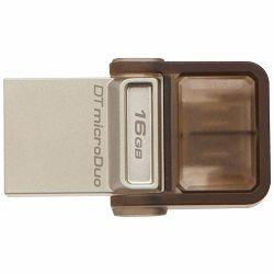 USB memorija KINGSTON 16GB DT microDuo USB 3.0/ micro USB OTG, EAN: 740617230734