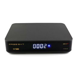 DVB-T ANDROID prijemnik FREESAT GTT (ANDROID 6.0, 4K, 1GB RAM, 8GB HDD, DVB-T2/C HEVC H.265)