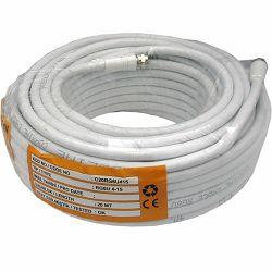 DVB-T oprema - Koaksijalni kabel REDLINE C-20, RG-6, 90dB, s konektorima, 20 m