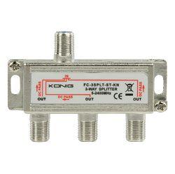 DVB-T oprema - razdjelnik 1IN - 3OUT F-KON STI 00406