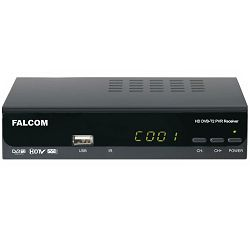 DVB-T prijemnik FALCOM T2265+ SCART, displey, H.265 HEVC