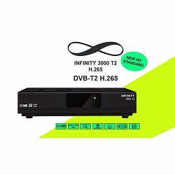 DVB-T prijemnik INFINITY 3000 HEVC H.265