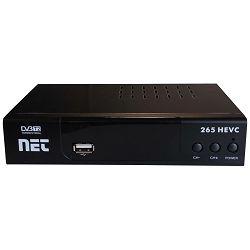 DVB-T prijemnik NET 265HEVC, SCART, HDMI, H.265