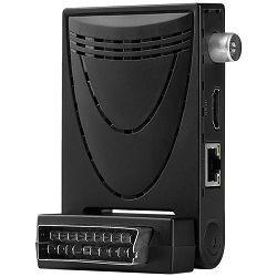 DVB-T prijemnik TELE SYSTEM HD FACILE STEALTH/01, DVB-T2,H.265/HEVC 10 bit,Scart/HDMI,LAN