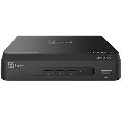 DVB-T prijemnik TELE SYSTEM TS6809 T2 HEVC DVB-T/T2, H.265, SCART, HDMI