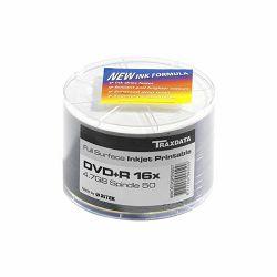 DVD-R TRAXDATA 4,7GB SPINDLE 50 PRINT BIJELI - 1kom