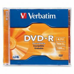 DVD-R Verbatim 4.7GB 16× Matt Silver