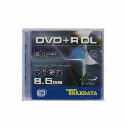 DVD+R DL TRAXDATA 8,5 GB BOX 1 - 1 kom