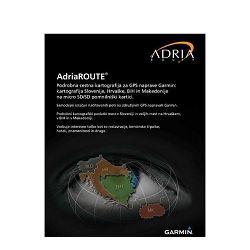 Karta GARMIN ADRIAROUTE- HR, SLO, BIH, CG za GARMIN 3.30 NT na SD kartici