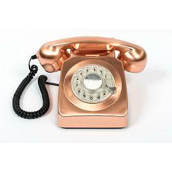 Telefon GPO RETRO 746 ROTARY brončani