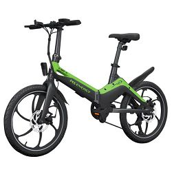 Električni bicikl MS ENERGY i10 black green