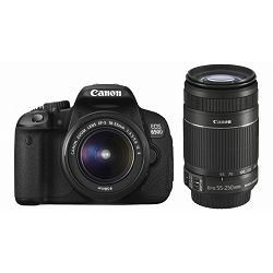 Fotoaparat CANON EOS 650D KIT EF-S 18-55 IS II + EF-S 55-250 IS II + poklon memorijska kartica 16GB