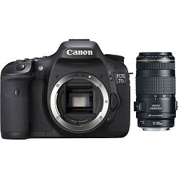 Fotoaparat CANON EOS 7D KIT EF 70-300mm f/4-5.6 IS USM + poklon CompactFlash kartica 16GB