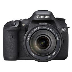 Fotoaparat CANON EOS 7D KIT EF-S 15-85mm IS USM + EF 70-300mm f/4-5.6 IS USM + poklon CompactFlash kartica 16GB