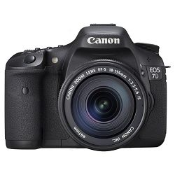 Fotoaparat CANON EOS 7D KIT EF-S 18-135mm IS + poklon CompactFlash kartica 16GB