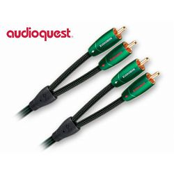 Kabel stereo 2RCA TO 2RCA AUDIOQUEST EVERzeleni 1M